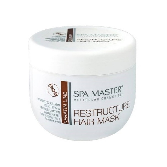 Mascarilla Reestructurante con Keratina pH 5,5 (500 ml)