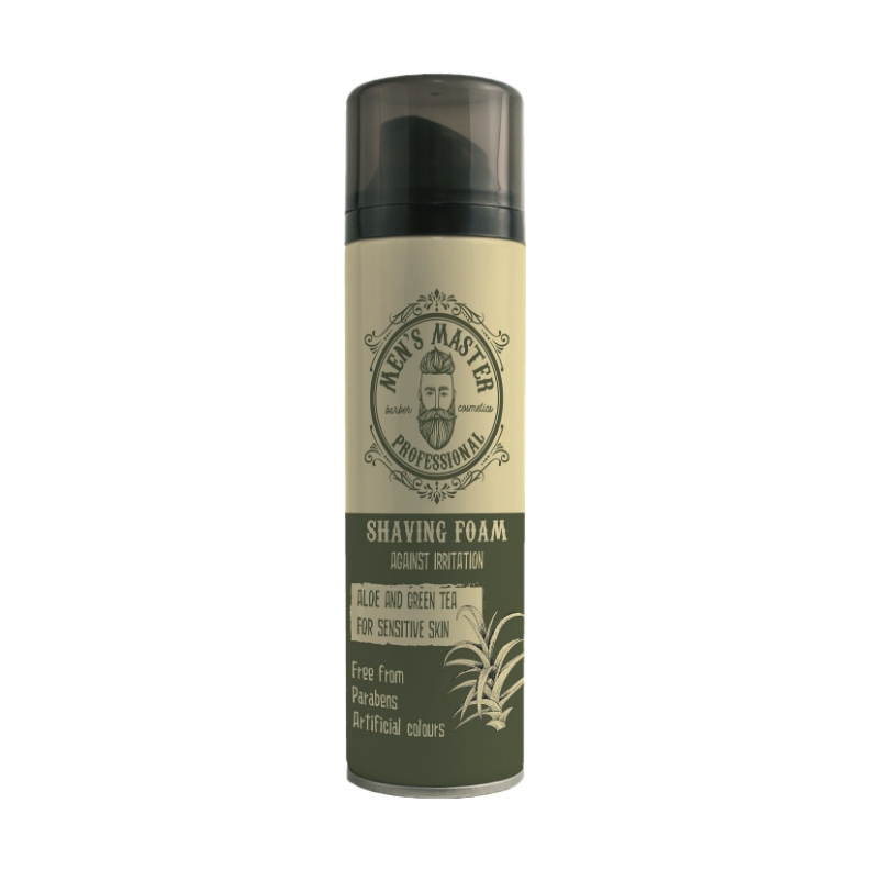 Espuma Aftershave ''Aloe y Té Verde'' MEN'S MASTER (200 ml)